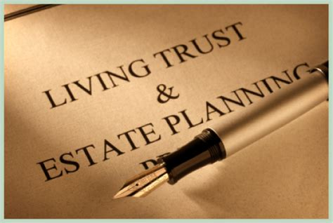 living trust is a revocable living trust right for you goodwin p a