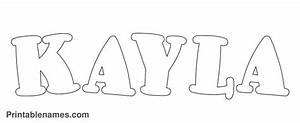 kayla coloring pages - Google Search | MY NAME | Pinterest
