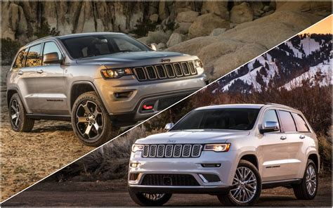 jeep summit 2017 news 2017 jeep grand cherokee trailhawk summit outed