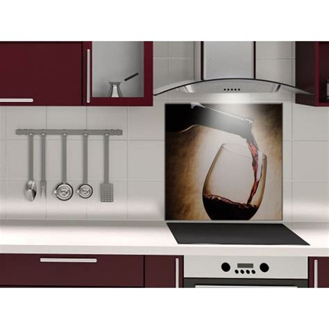 fond cuisine fond de hotte verre ou alu vin