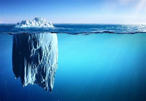 icebergs   horizon   turn