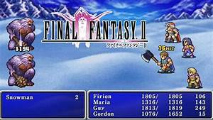 Final Fantasy II Review PSP YouTube