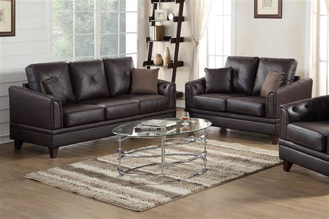 Leather Sofa And Loveseat Sets by Brown Leather Sofa And Loveseat Set A Sofa
