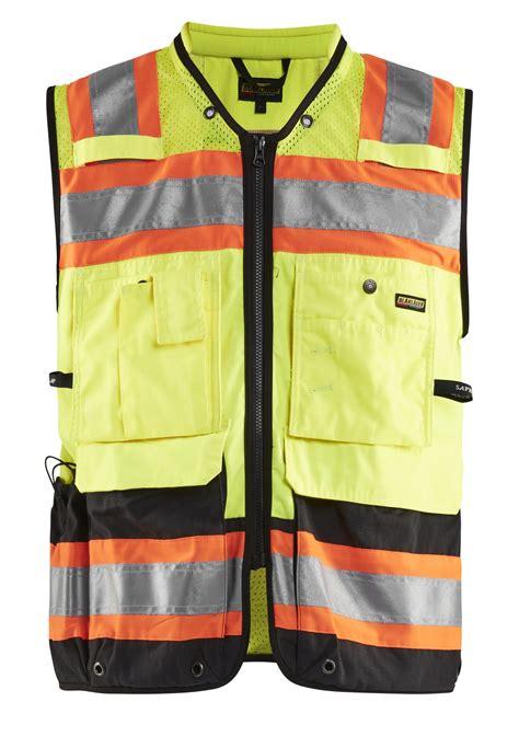 3134: CA hivis vest - WorkWear-USA