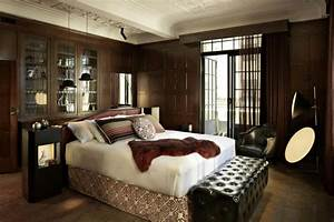 Schlafzimmer Beispiele Farbgestaltung : 60 berzeugende beispiele f r wanddesign in braun ~ Markanthonyermac.com Haus und Dekorationen