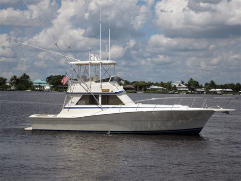 Used Viking Boats For Sale by 1986 Used Viking Convertible Fishing Boat For Sale