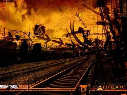 Trash Urban Wallpapers Vladmodels Railroad Compilation Contains