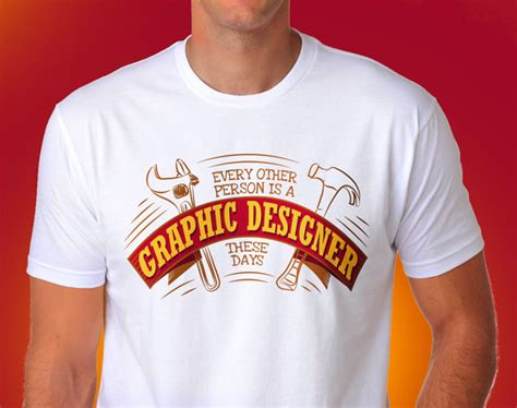 Free Vector T-shirt Design For Graphic Designers