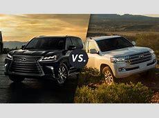 Comparison 2018 Lexus LX 570 vs 2018 Toyota Land Cruiser