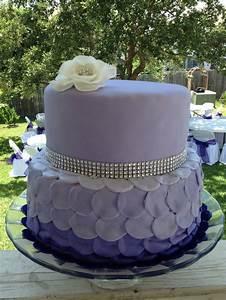 Purple birthday cake! | Purple birthday cake! | Pinterest