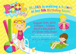 Pool Party Invitations Clipart - Clipart Suggest