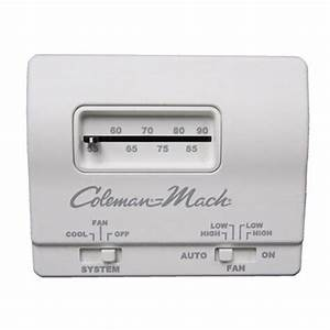 Coleman Mach 7330f3361 Analog Cool Only Rv Air Conditioner