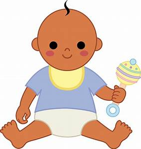 Black Baby Boy Clip Art - ClipArt Best