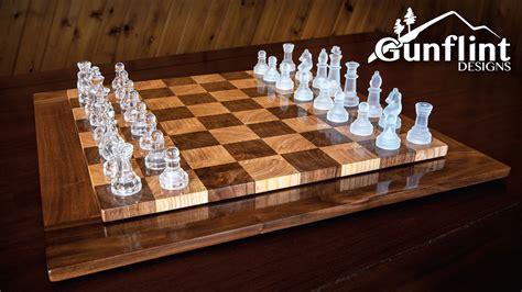 making  chess board  grain style youtube