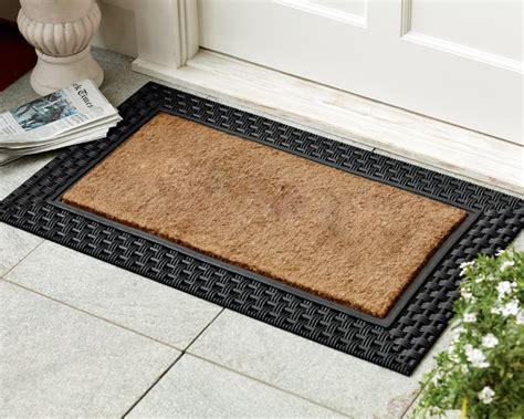 Doormats For Double Doors. Xl Double Door Doormat Semi