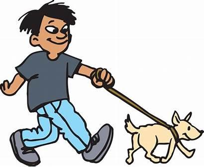 Walking Dog Clipart Walk Perro Lovers Dogs
