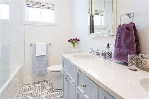blue double bathroom vanity transitional bathroom