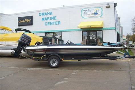 Small Boat Bass Club Omaha by 1990 Stratos 201p Tournament Bass Boat Price 7 995 00