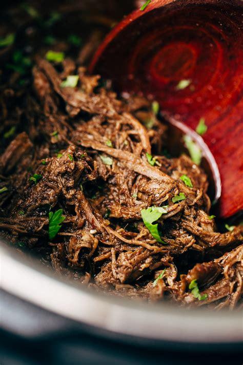 pressure cooker barbacoa beef instant pot recipe