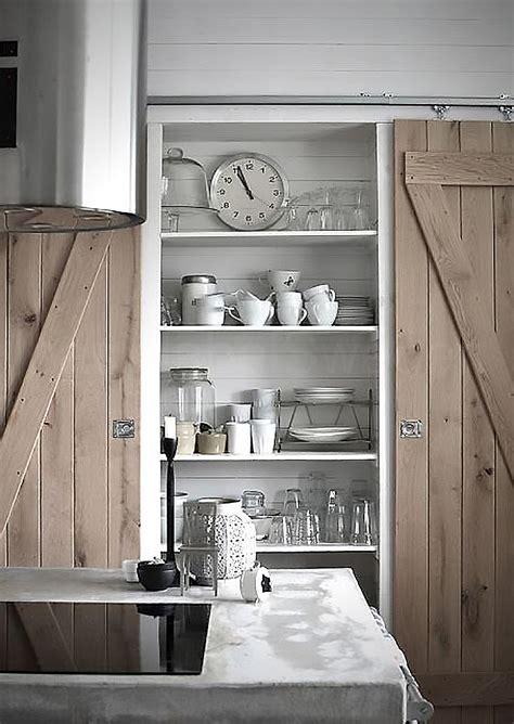 barn door kitchen cabinets sliding barn doors pinspiration my warehouse home