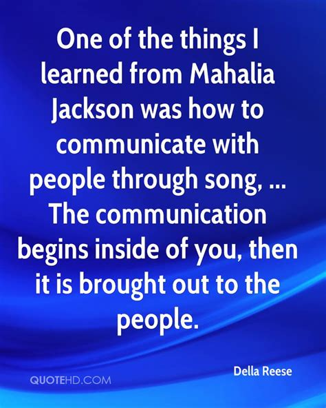 Explore the best of mahalia jackson quotes, as voted by our community. Mahalia Jackson Quotes. QuotesGram