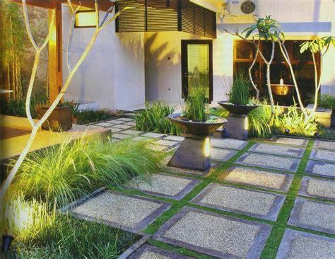 desain taman bunga halaman rumah desain taman penuh