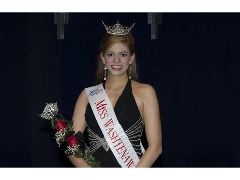 2014 Pageant Ms Senior Michigan Of Michigan Senior Alexandria Strother Crowned