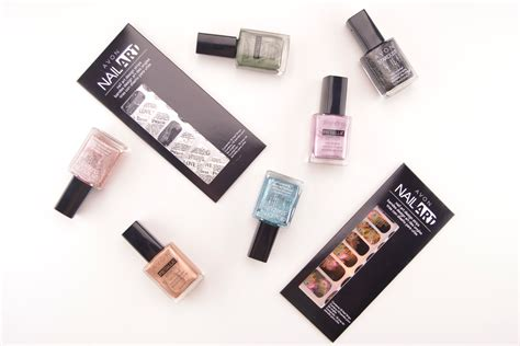 Avon Nail Enamel Metallic Effects And Stardust Review