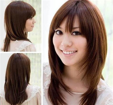 asian layered hairstyles  women layered hairstyles