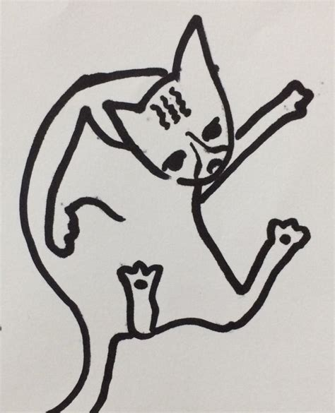 people    draw cats