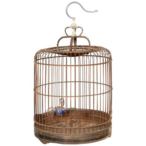 antique parrot cage vintage chinese birdcage for sale at 1stdibs