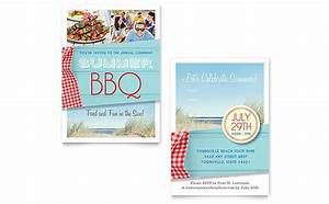 summer bbq invitation template word publisher With wedding invitations indesign template free