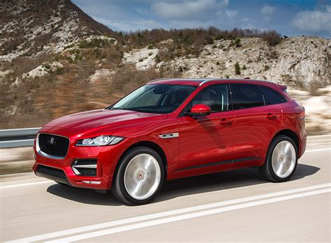 2018 Jaguar F-pace Prices, Engines Announced