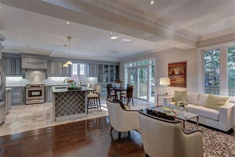 Open Living Room And Kitchen Pictures  Joy Studio Design
