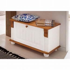 Banc Avec Rangement : banc avec rangement chaussures blanc 3 suisses ~ Melissatoandfro.com Idées de Décoration