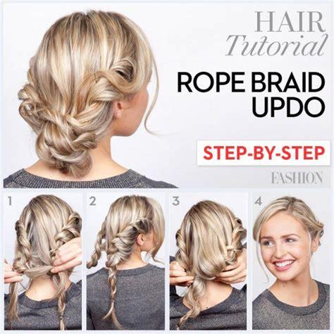 top  messy updo tutorials   hair lengths