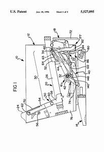 Patent Us5527095 - Pawl And Ratchet Assembly