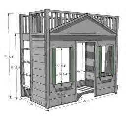plans for built in loft bed 187 plansdownload