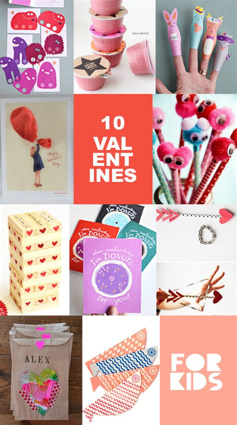 But for valentine's day with grandma and grandpa you want the kids to make something a little more special than a scribbled signature on the back of a star wars valentine. 10 DIY Valentines for Kids - Valentines Cards for kids ...