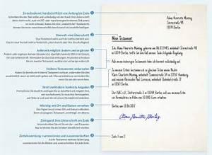 Testament Selbst Schreiben : testament selbst verfassen ~ Eleganceandgraceweddings.com Haus und Dekorationen