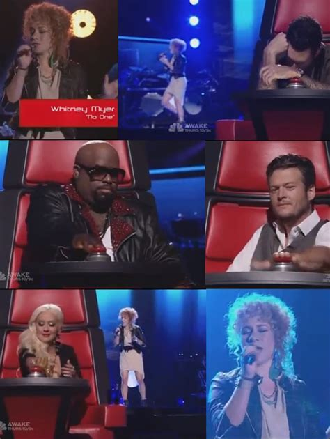 myer turns all four chairs on the voice