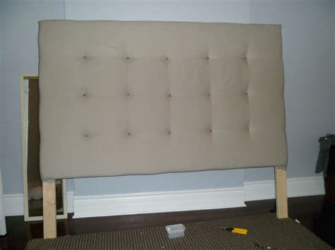 Large Padded Headboard Queen Home Ideas Collection