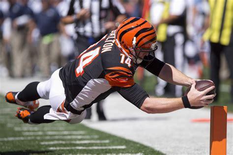 Cincinnati's Andy Dalton Hauls In First Career Touchdown