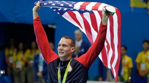 floridas caeleb dressel captures gold medal