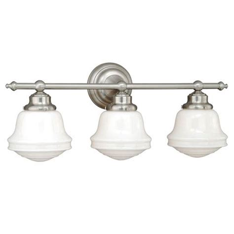 vaxcel huntley satin nickel three light vanity fixture on sale
