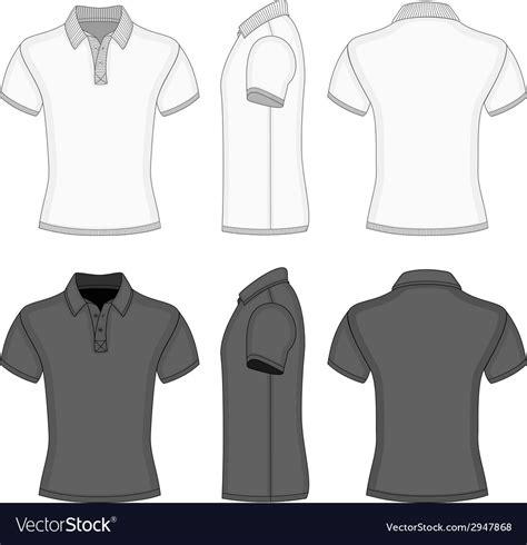 mens polo shirt   shirt design templates vector image