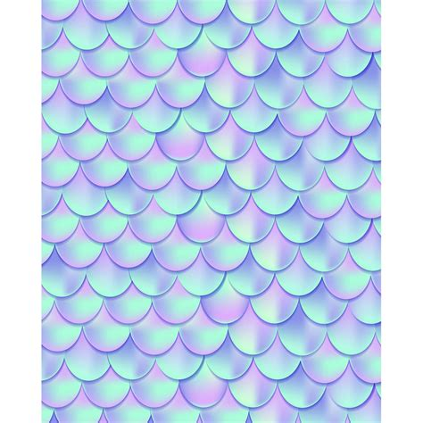 Mermaid Scales Background Iridescent Mermaid Scales Printed Backdrop Backdrop Express