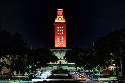 Ut Tower 50 Photograph By Andrew Nourse