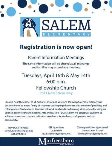 registration open murfreesboro city schools murfreesboro