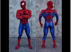 Spiderman Cosplay Comic book Suit YouTube